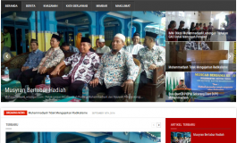 Launching Website Muhammadiyah Lamongan