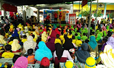 Lomba Mewarnai SD Muhammadiyah 1 Pucuk Kembangkan Daya Kreatifitas dan Imajinasi Anak