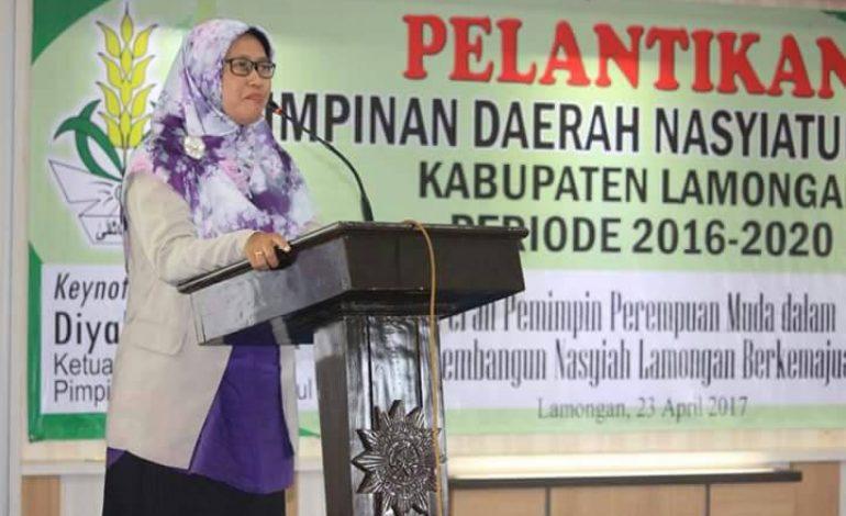 Ketua Pimpinan Pusat Nasyiatul Aisyiyah : Sebut 4 Indikator Peran Perempuan Berkemajuan