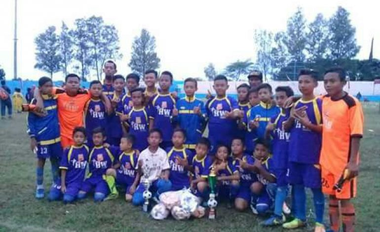 SSB HW Babat Harus Puas jadi Runner Up Kejuaraan Sekolah Sepak Bola Jatim