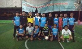 Tingkatkan Komunikasi Organisasi, IPM Lamongan dan IPNU Lamongan Adakan Futsal