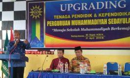 Wujudkan Sekolah Muhammadiyah Berkemajuan, PRM Sedayulawas Upgrade Guru