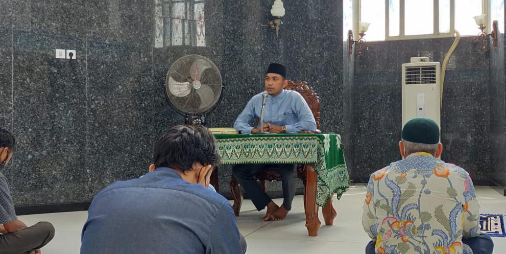 Makna In Sya Allah di sampaikan di Masjid KBH UMLA
